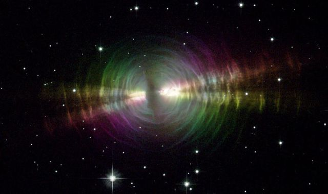 The Egg Nebula, a Planetary nebula discovered in 1996 | via Wikimedia Commons